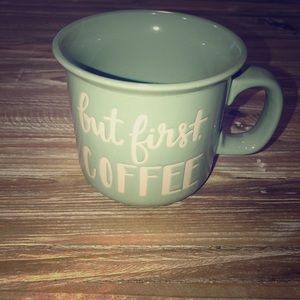 But First Coffee... ceramic coffee mug